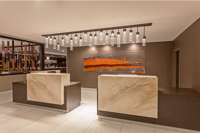 Iig renovates hilton property in san bernardino calif for Boutique hotel design guidelines