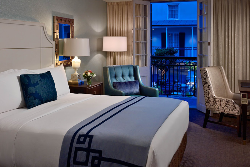 Two design firms combine for royal sonesta new orleans for Design hotel new orleans