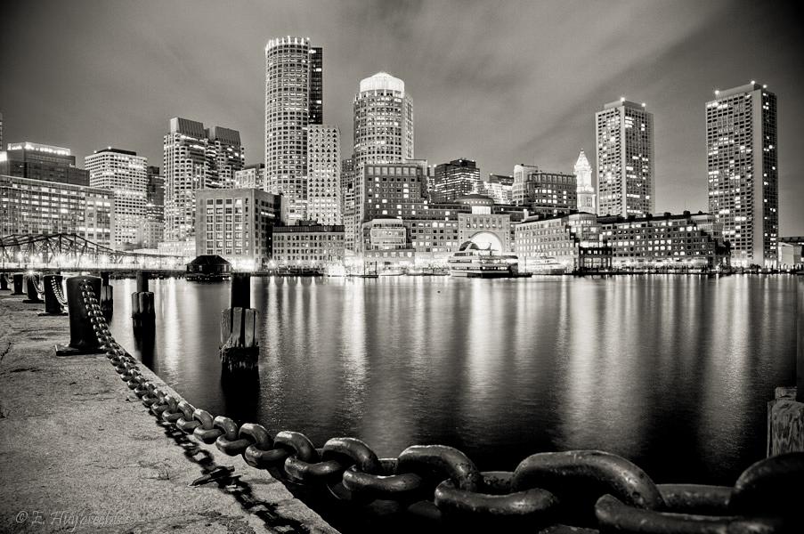 Boston Harbor Overlook