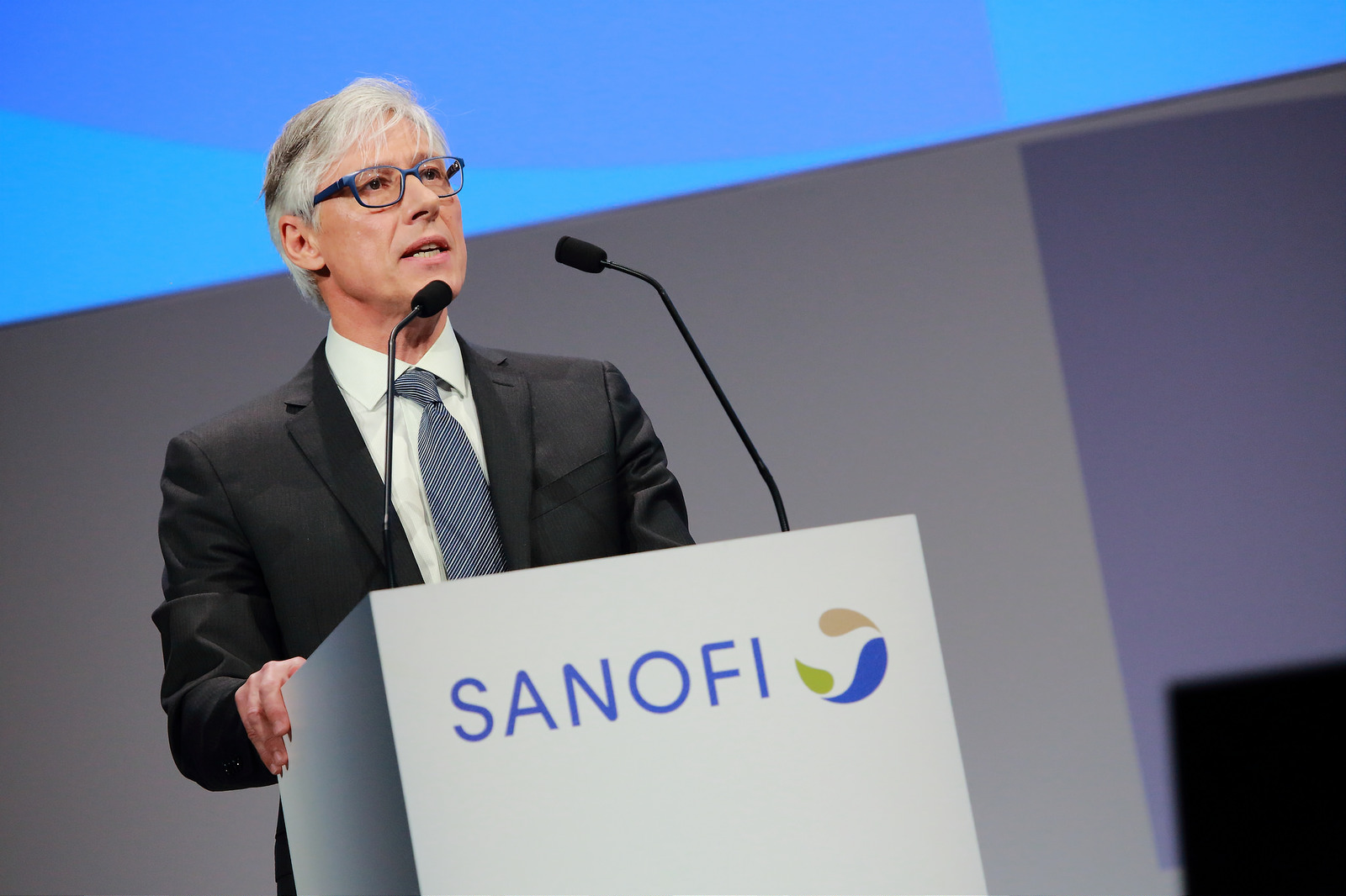 Sanofi CEO speech