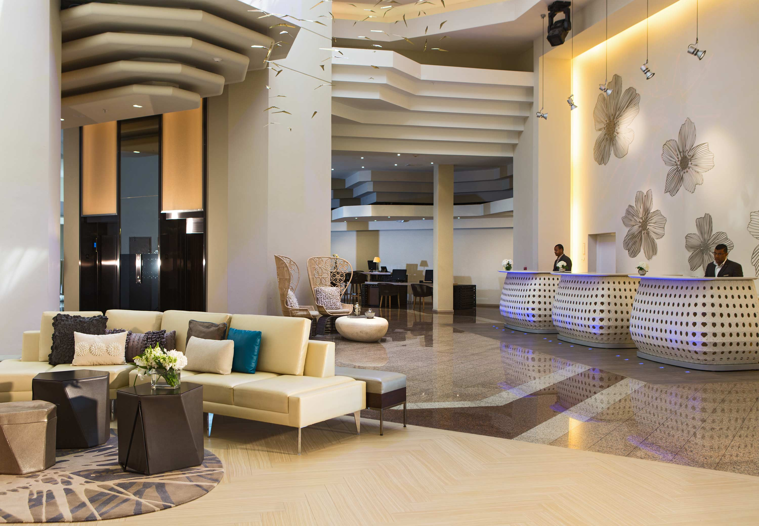 The Changing Role Of Front Desks In Lobby Design Hotel