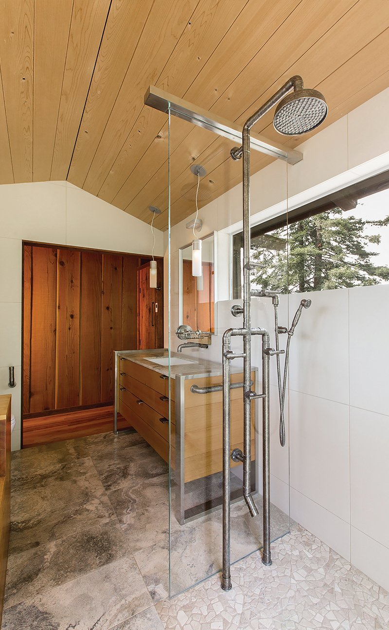 Industrial Chic: Sonoma Forge's WaterBridge Exposed Shower