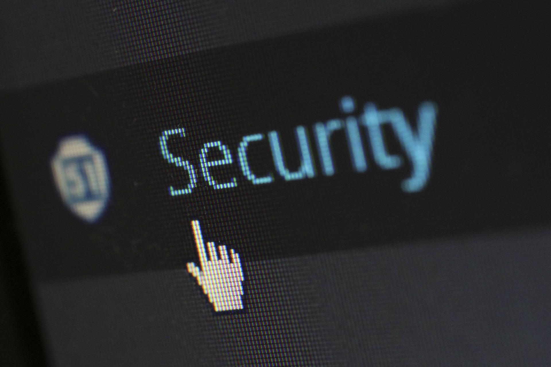 Computer screen security