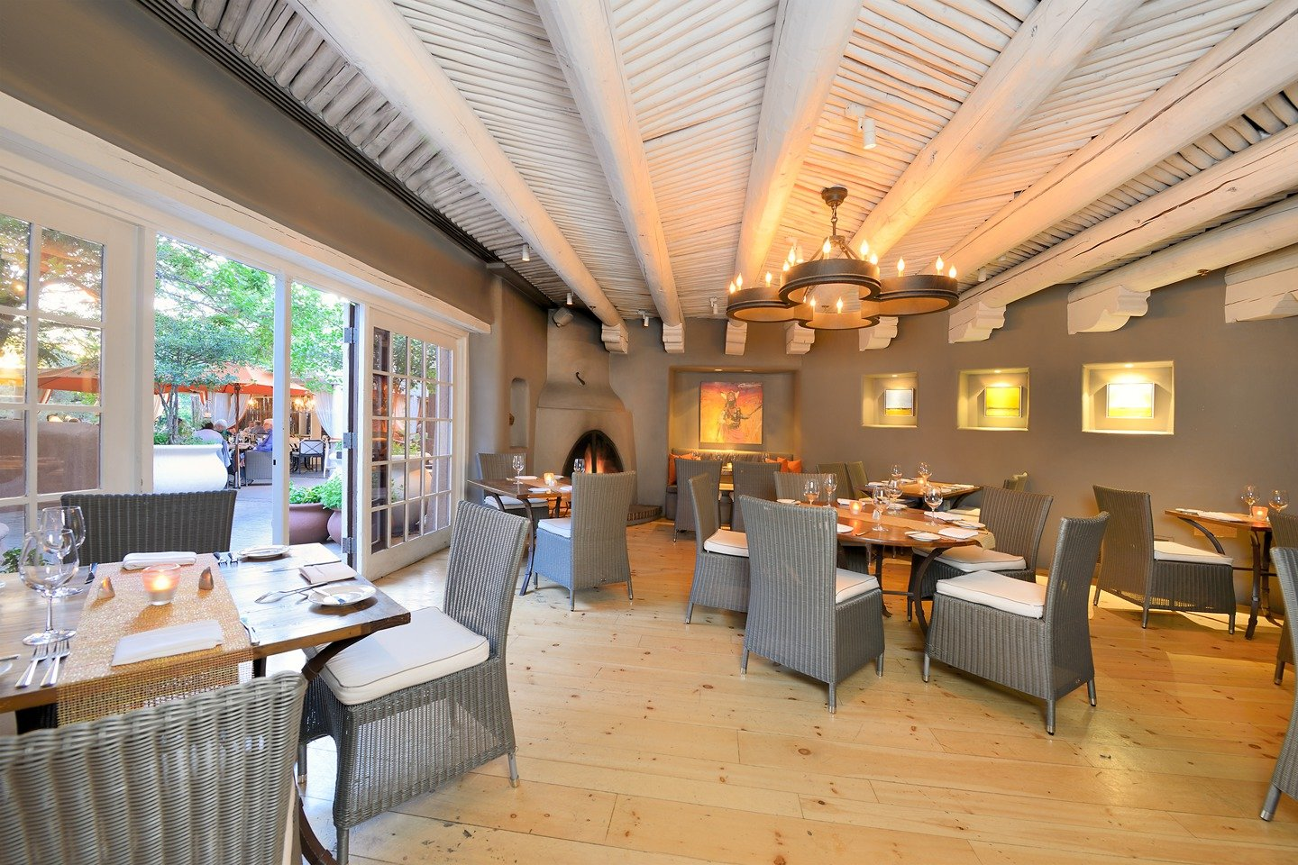 Santa fe hotels share restaurant hirings renovations