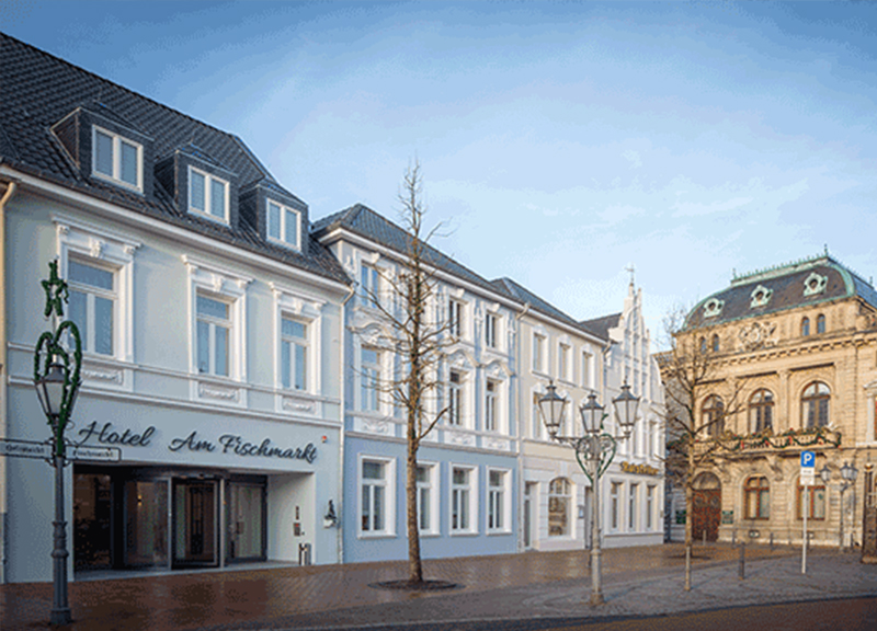 Joi design unveils hotel am fischmarkt in rheinberg for Design hotel sauerland am kurhaus 6 8