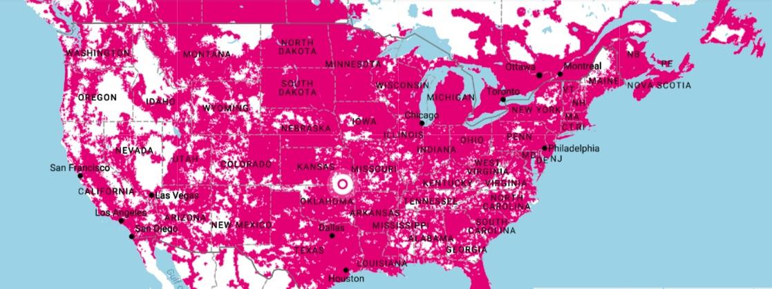 TMobiles Ray Well Match Verizons LTE Coverage This Year - Verizon network map
