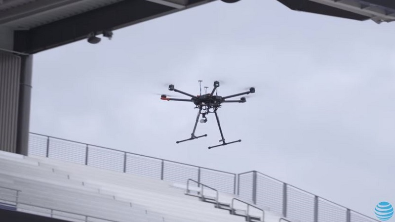 At Amp T Enlists Echo Drone To Measure Quality Of Networks In