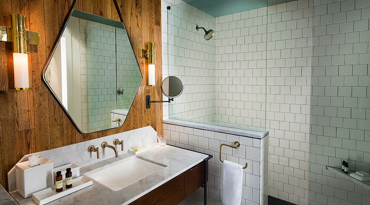 Bathroom Fixtures Nashville thompson hotels officially opens the thompson nashville | hotel