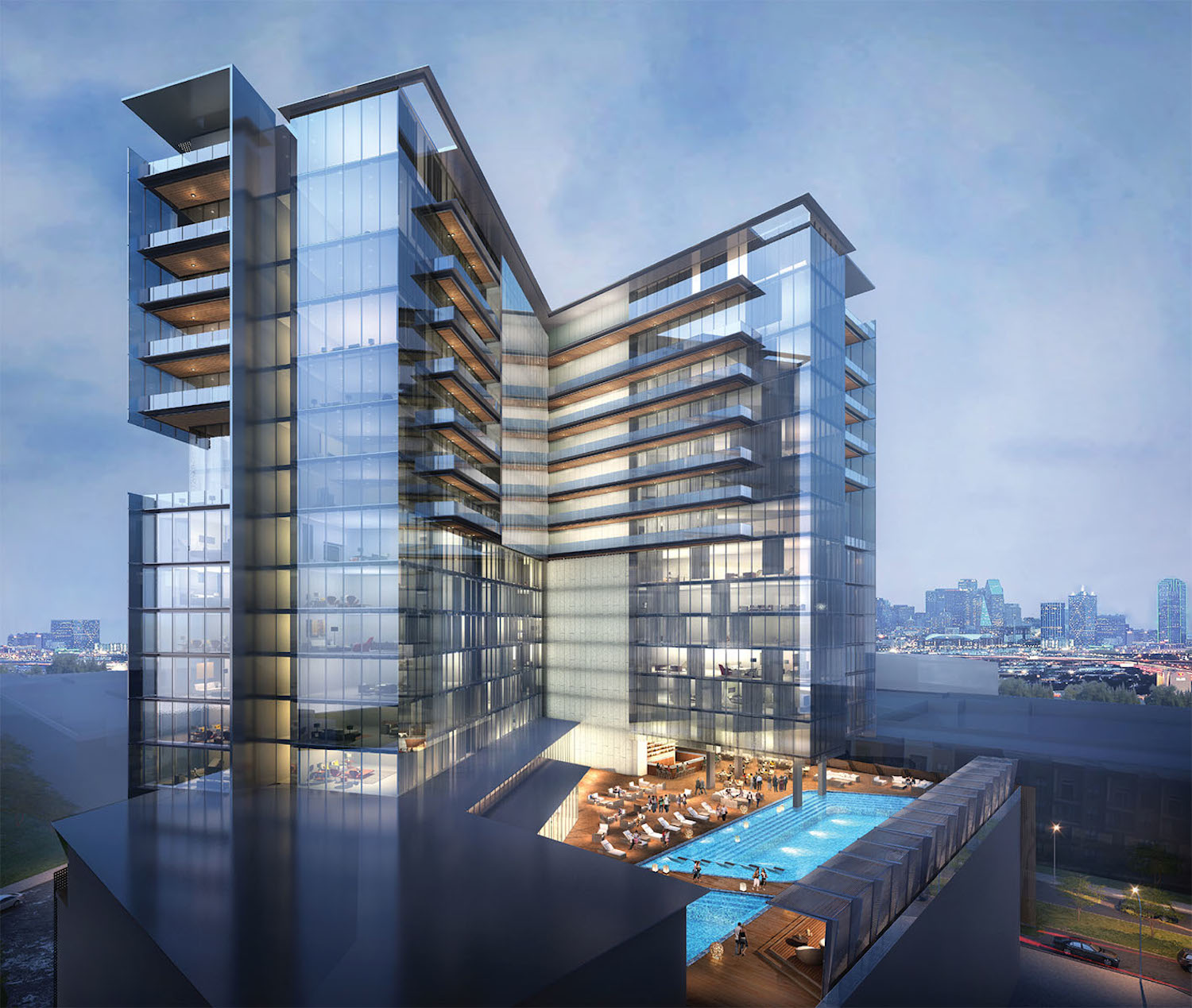 Development starts on the virgin hotels dallas hotel for Design hotel quartier 65