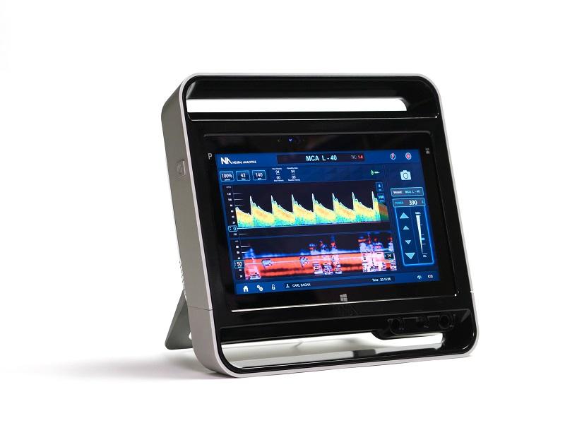 Brain Monitoring System : Neural analytics scores m for portable brain monitoring