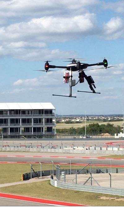 COTA Drones verizon