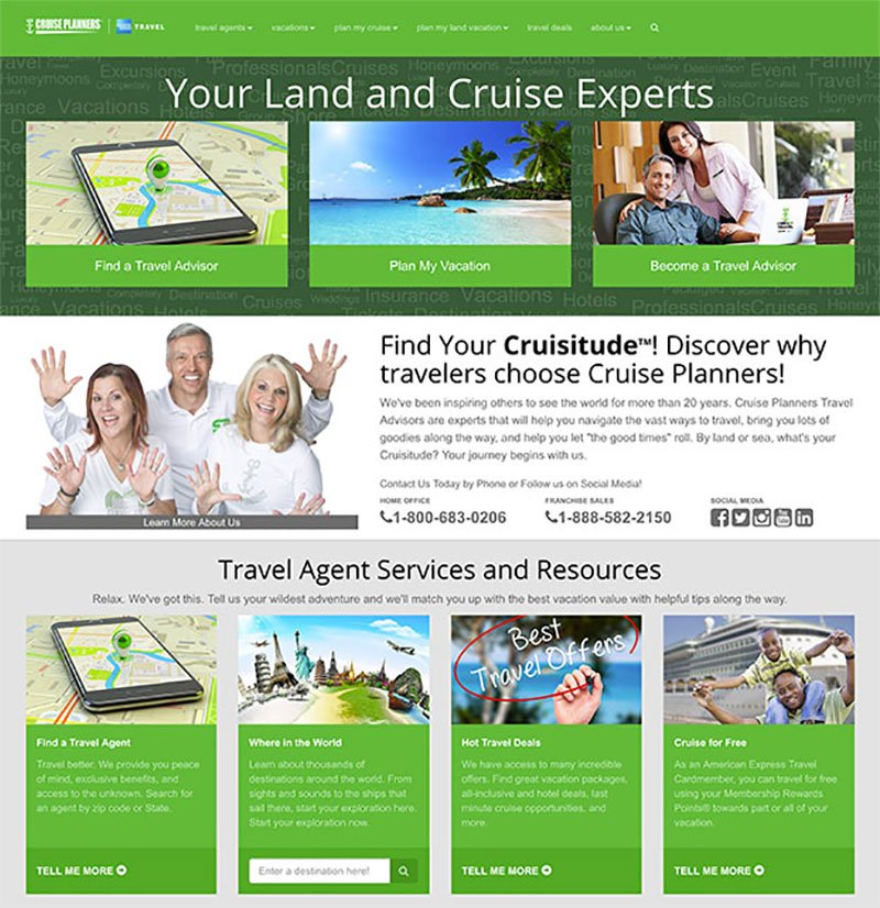 New Lead Generator for Travel Agents From Cruise Planners