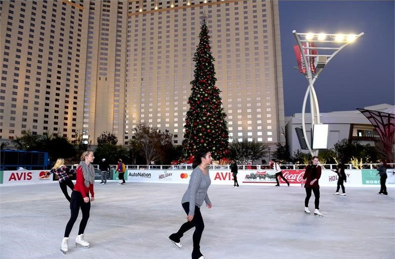 Top holiday events in las vegas this winter travel agent for Winter vacation spots in texas
