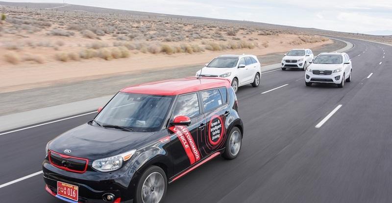 Kia autonomous car (Kia)