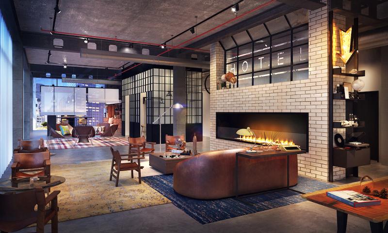 Hot new hotels for millennial travelers travel agent central for Industrial design frankfurt