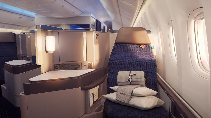 United 777 Cabin