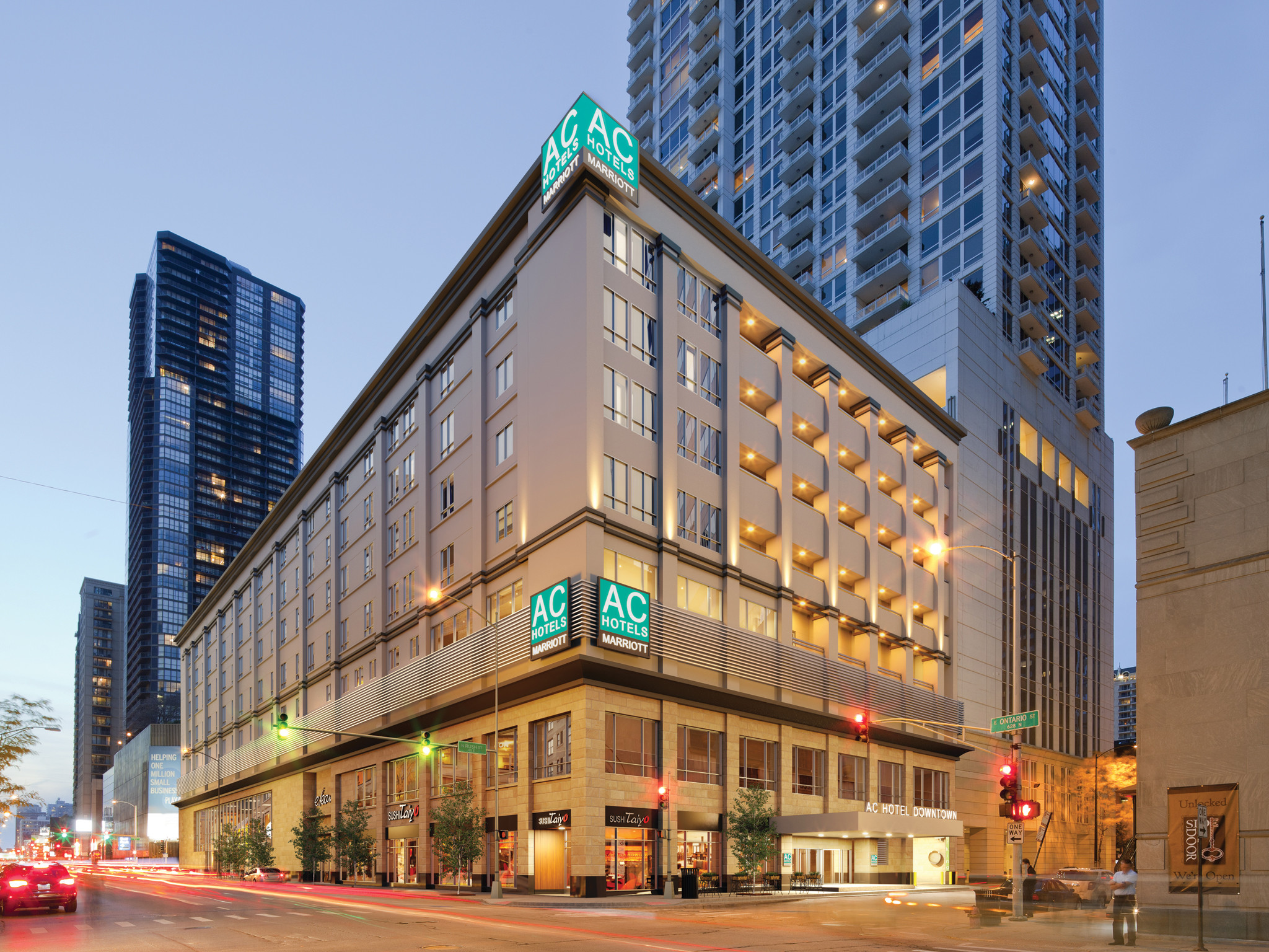 Marcus hotels navigates new course looks to the outside for New hotels in chicago