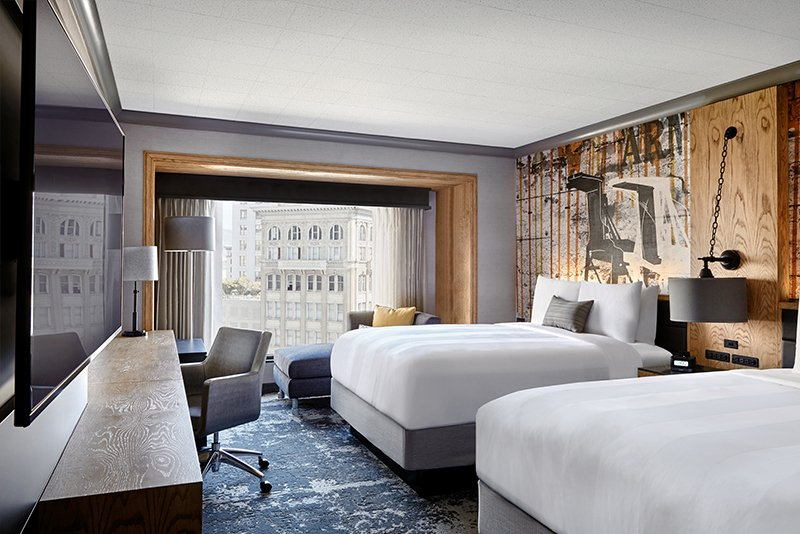 Local Design Elements Abound In Renovated Oakland Marriott