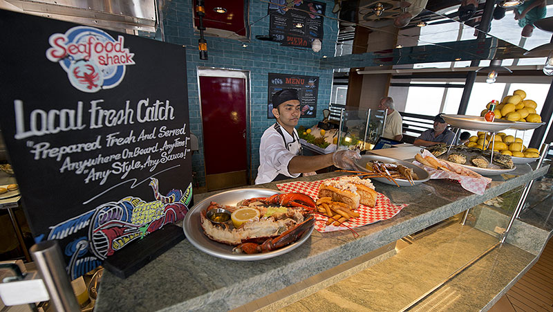 Carnival Cruise Line Adds Seafood Shacks To Several Ships