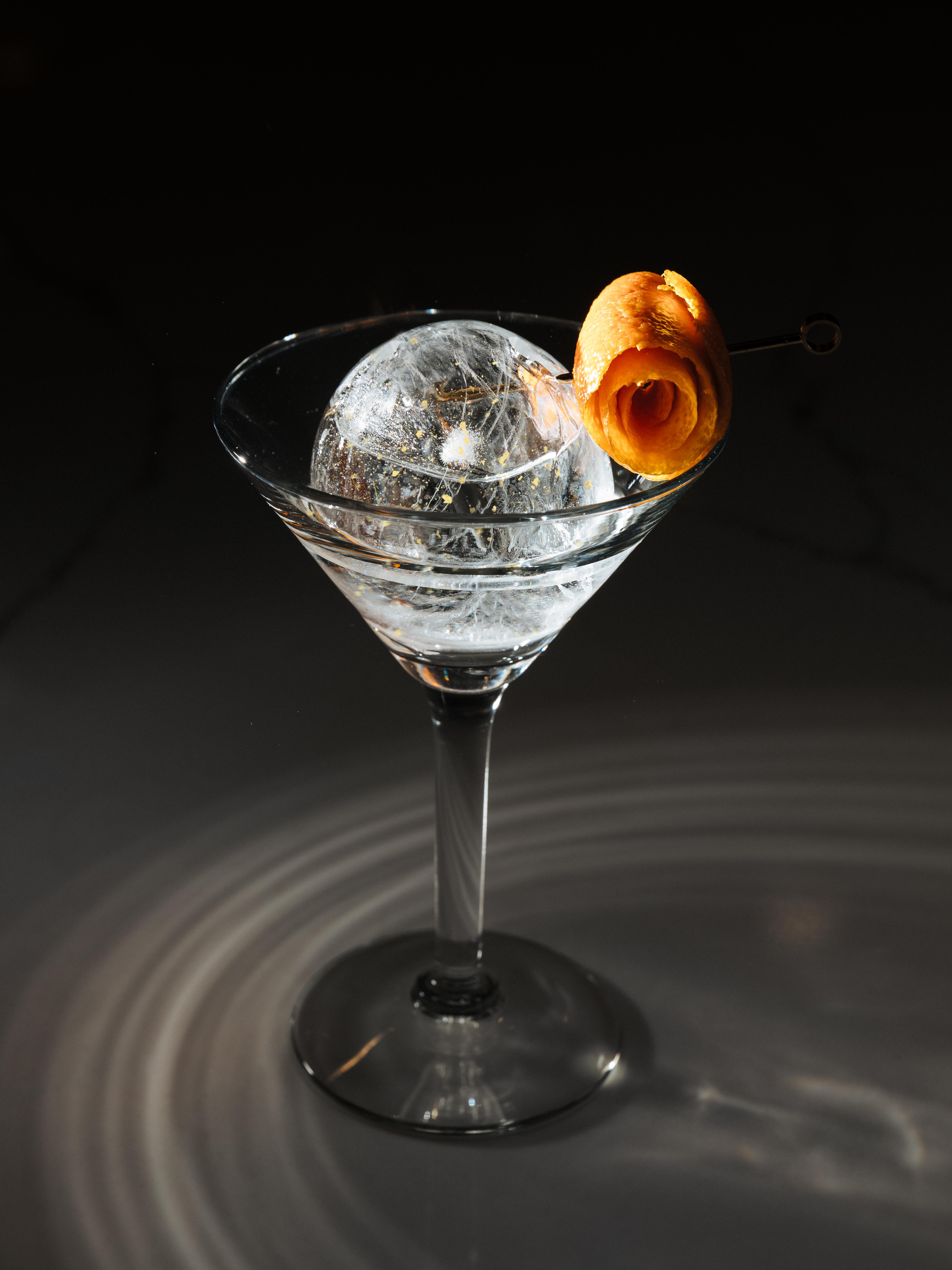 Rael Petit Billions ice sphere - Nightclub & Bar Digital Bartender of the Month