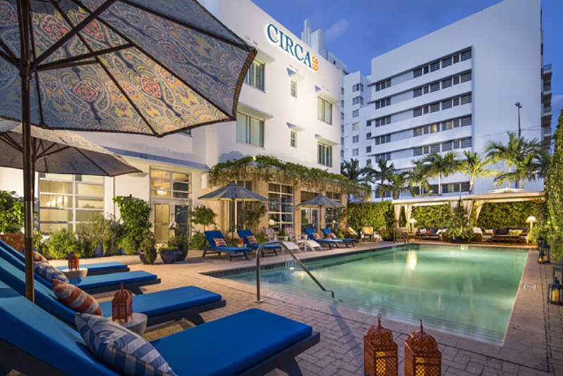 The Cool Pool of the Week: Circa 39 on Miami Beach | Travel Agent Central