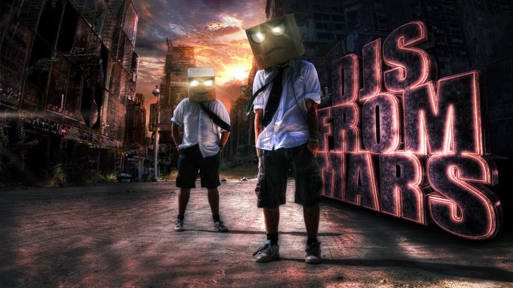 SKAM Artist DJs From Mars - SKAM Artist