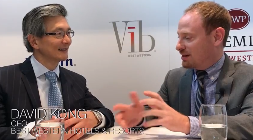 Ihif Best Western S David Kong Says Otas Are Less Of A Threat Than Airbnb Hotel Management