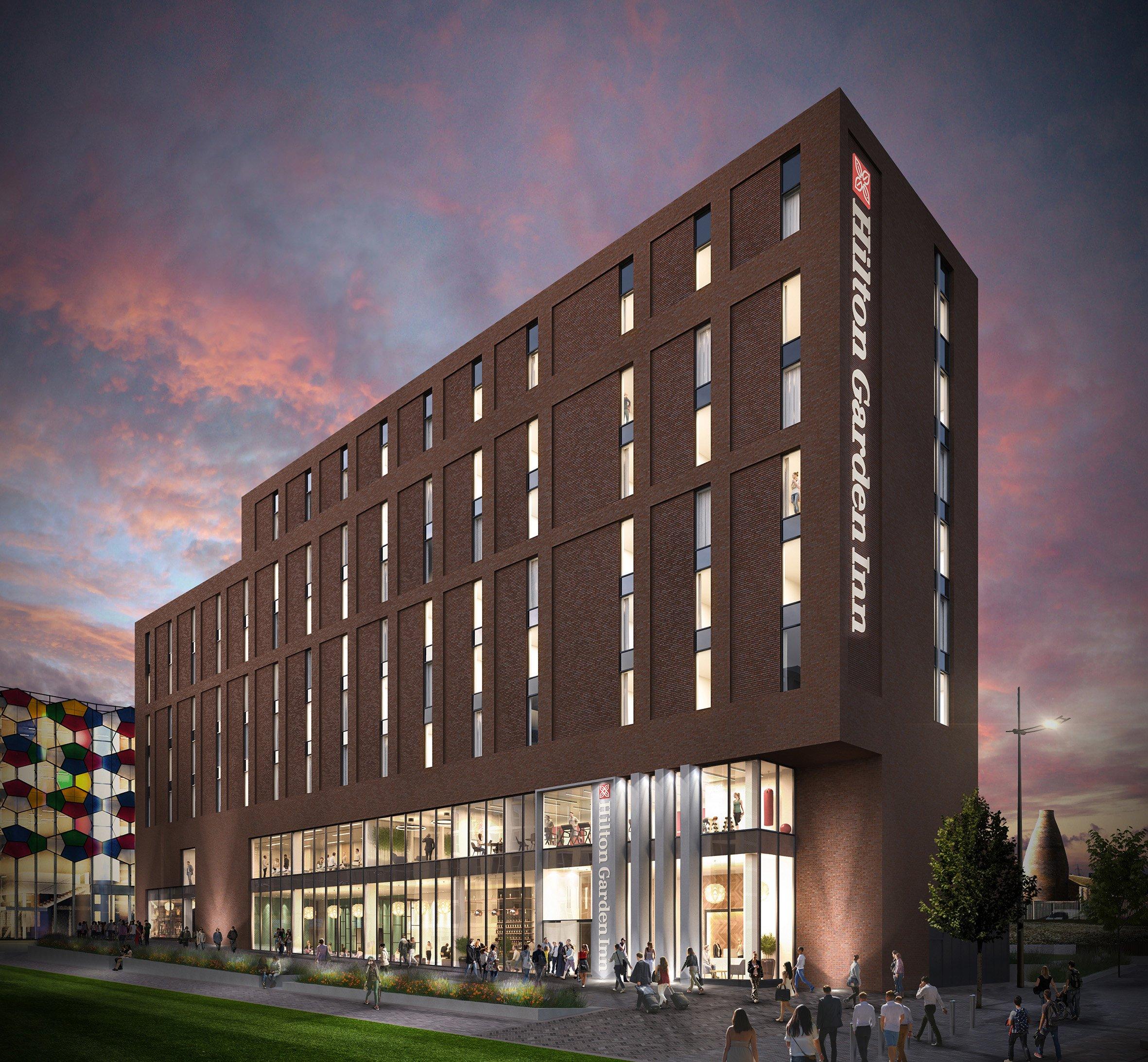 Hilton to open new Garden Inn in Stoke-on-Trent, England ...