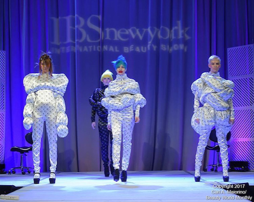 Saco Academy presenting on the Main Stage Photo courtesy of @beautyworldmonthly