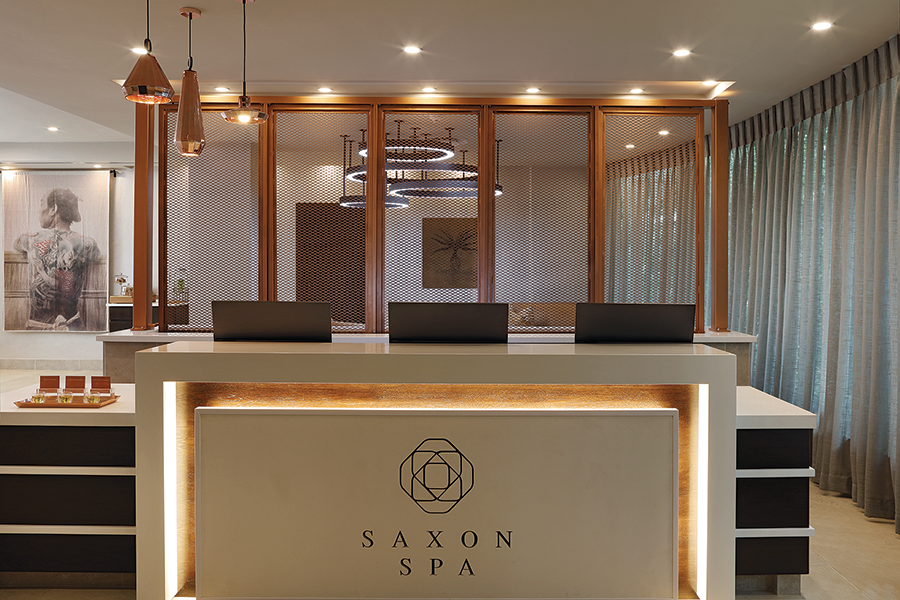 Saxon Spa reception