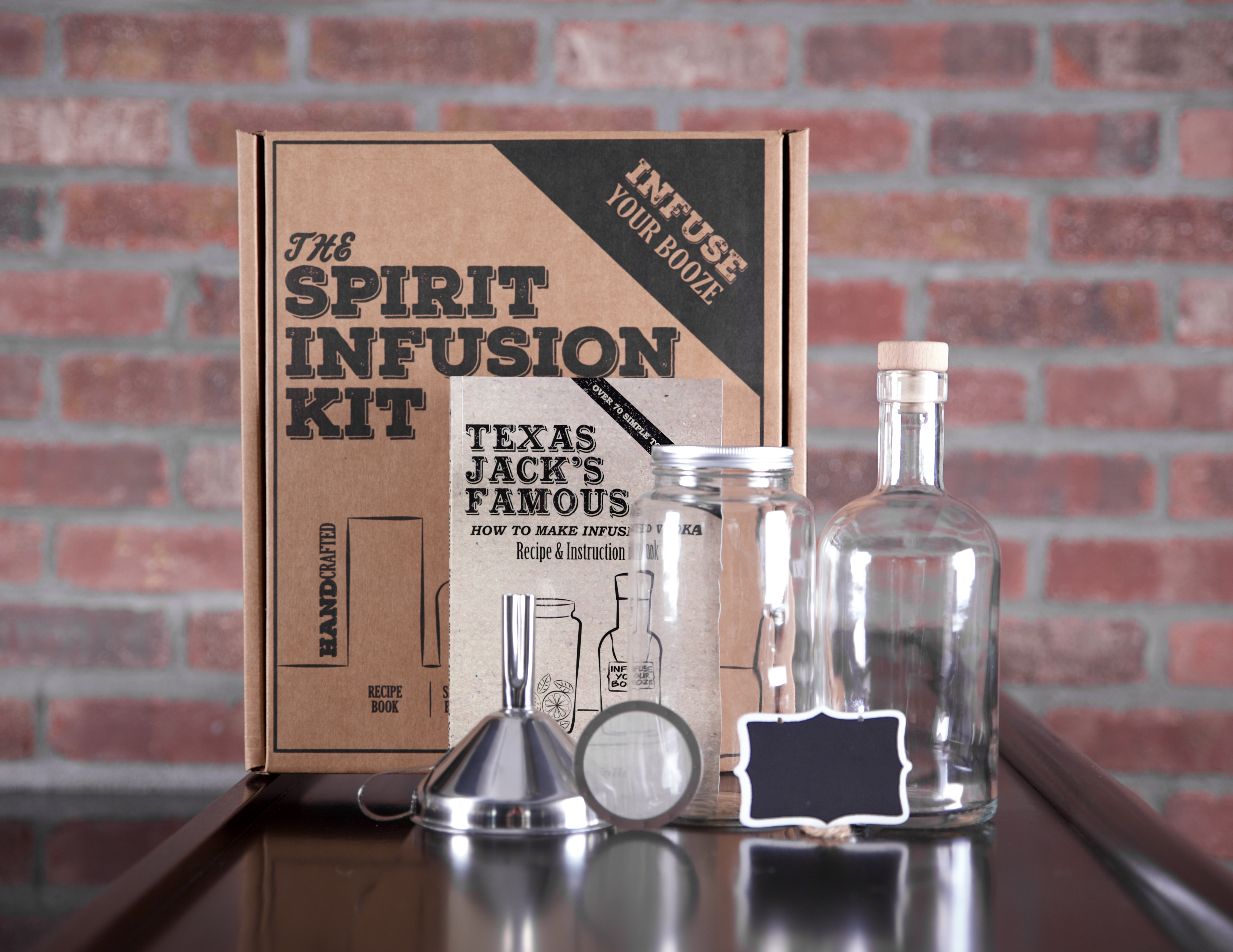The Spirit Infusion Kit infusing kit - Tools to infuse your booze