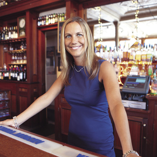 Stephanie Kocher, owner of 163 Taproom