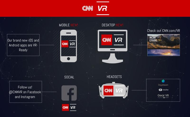 CNN launches virtual reality news platform
