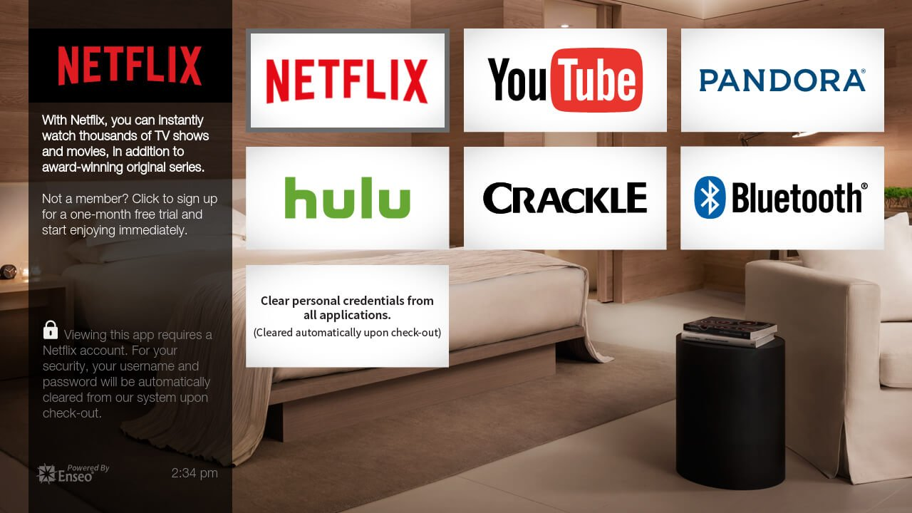 Netflix Is Taking Over TV Content At Hotels
