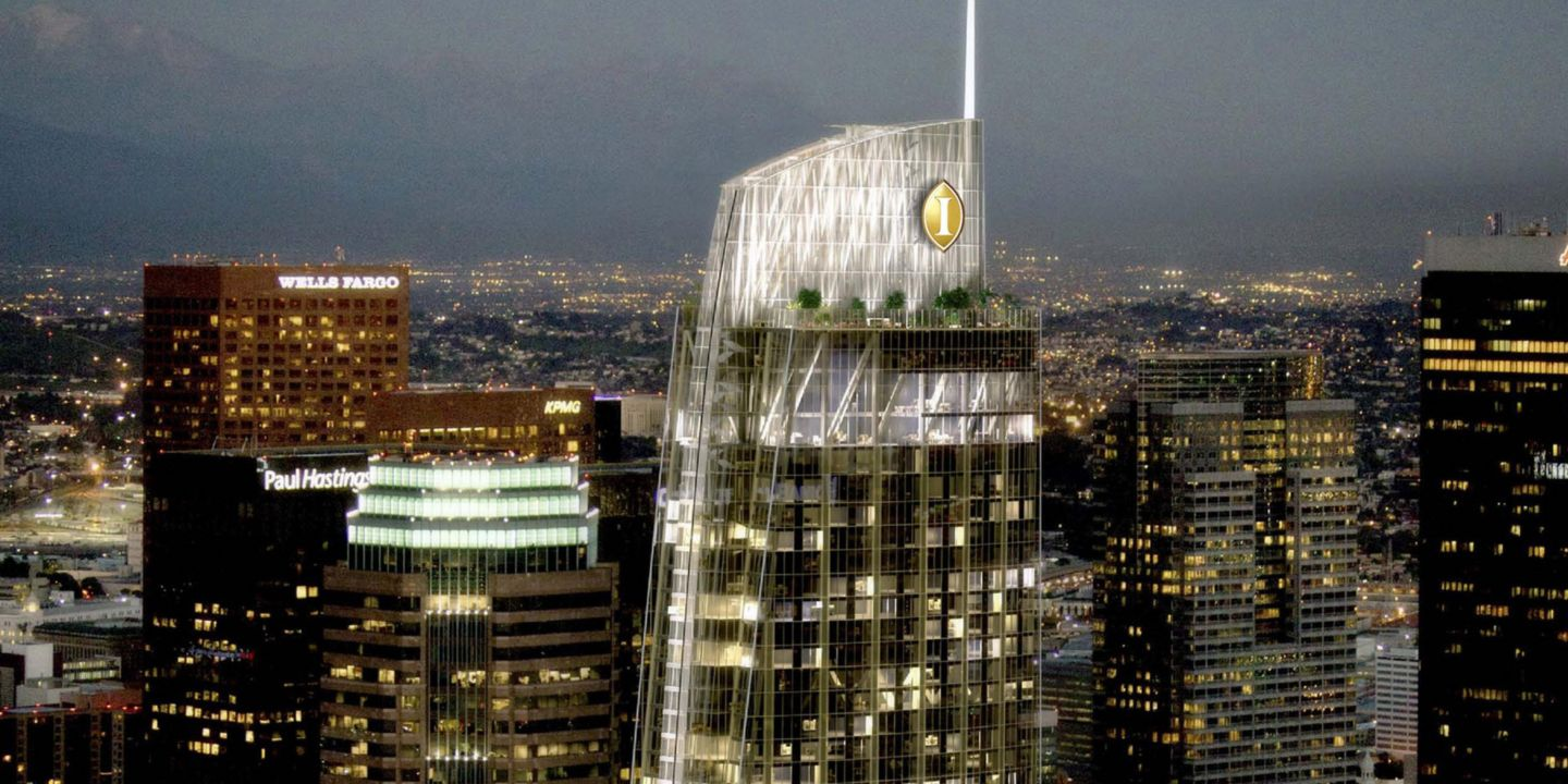 Intercontinental Hotels Group Builds In The City Of Angels Hotel Management