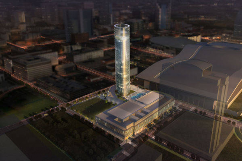 Guests Will Be Inspired At The New Toronto Marriott: Arquitectonica Inspired By Cumberland River For JW