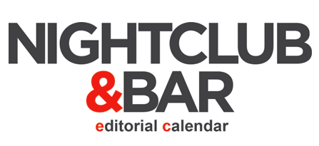 Nightclub & Bar Editorial Calendar