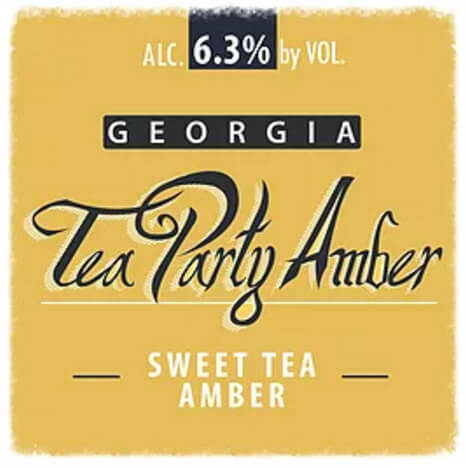 Eagle Rock Georgia Tea Party Sweet Tea Amber Ale - What's Shakin' week of April 24, 2017
