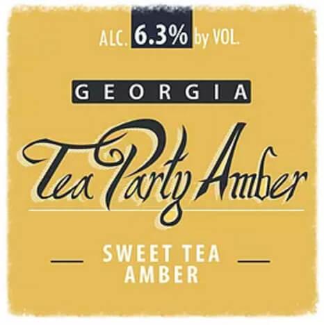 Eagle Rock Georgia Tea Party Sweet Tea Amber Ale - What's Shakin' week of April
