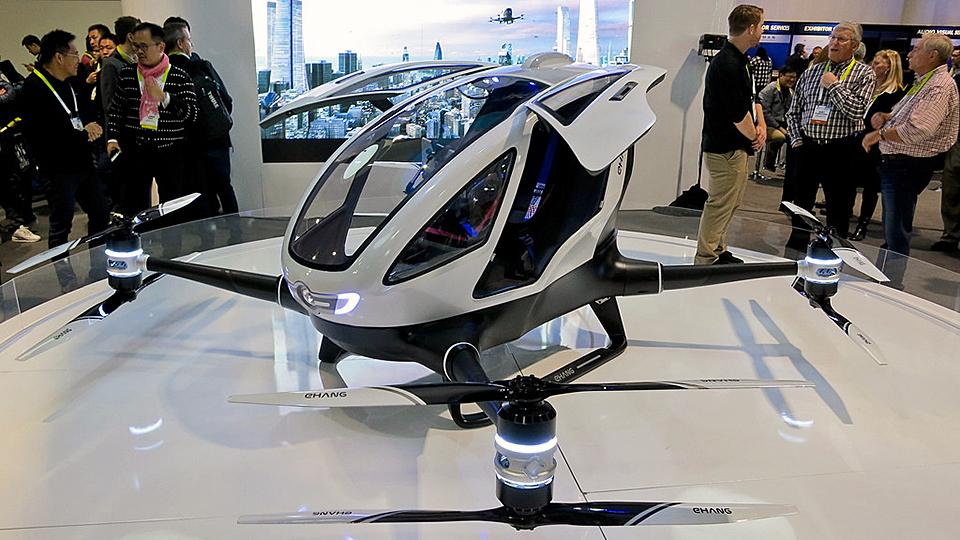 A single-passenger drone