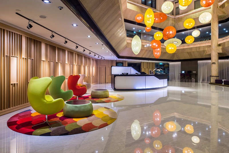 Modern Concept Of Classroom Management : Furama city centre unveils new lobby concept designed by