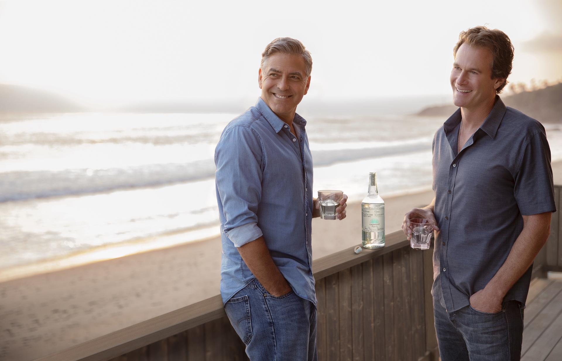 George Clooney and Rande Gerber - Casamigos Tequila