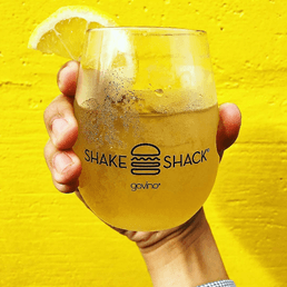 GOVINO glass with Shake Shack logo - GOVINO shatterproof glasses