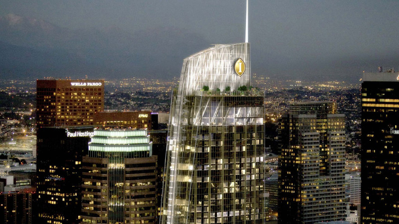 Intercontinental Los Angeles Downtown Opens In Ca S Tallest Building Luxury Travel Advisor