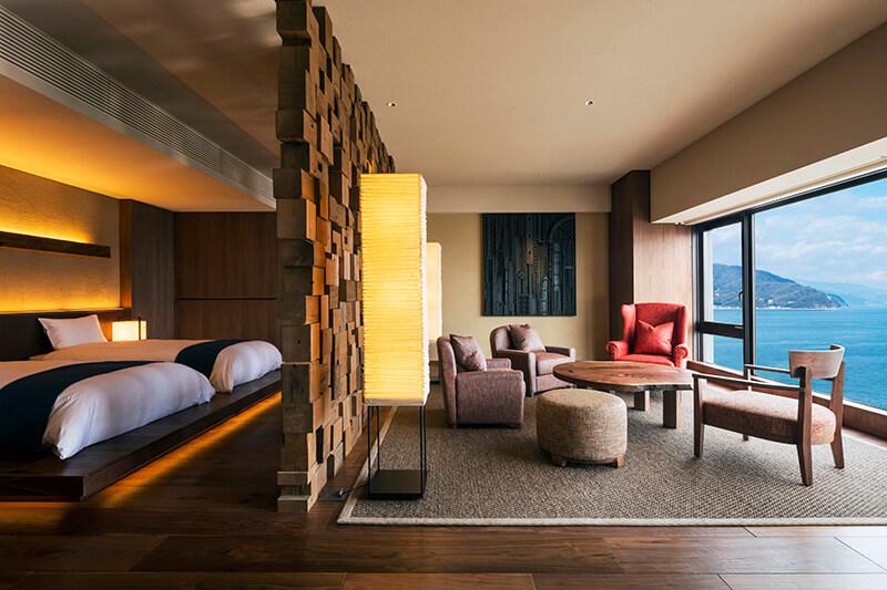 KAI Anjin guestroom // Photo by Hoshima Resorts