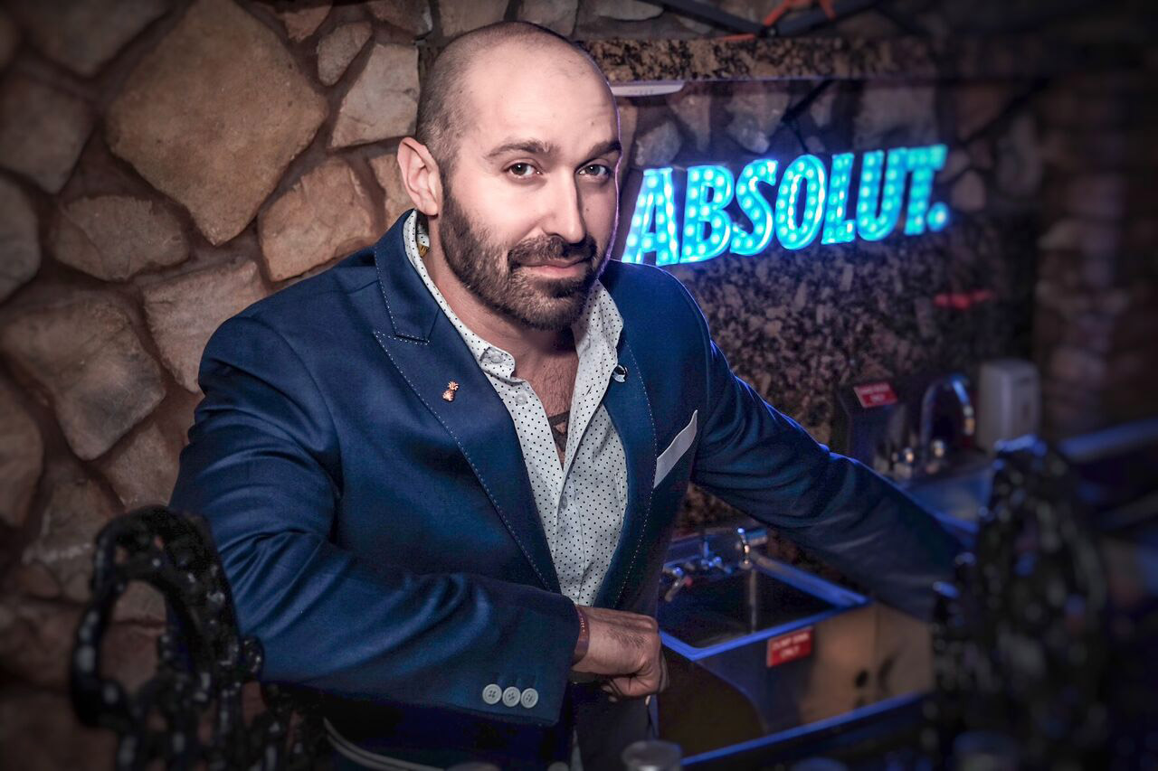 Absolut brand ambassador Raul Faria - April brand ambassador of the month
