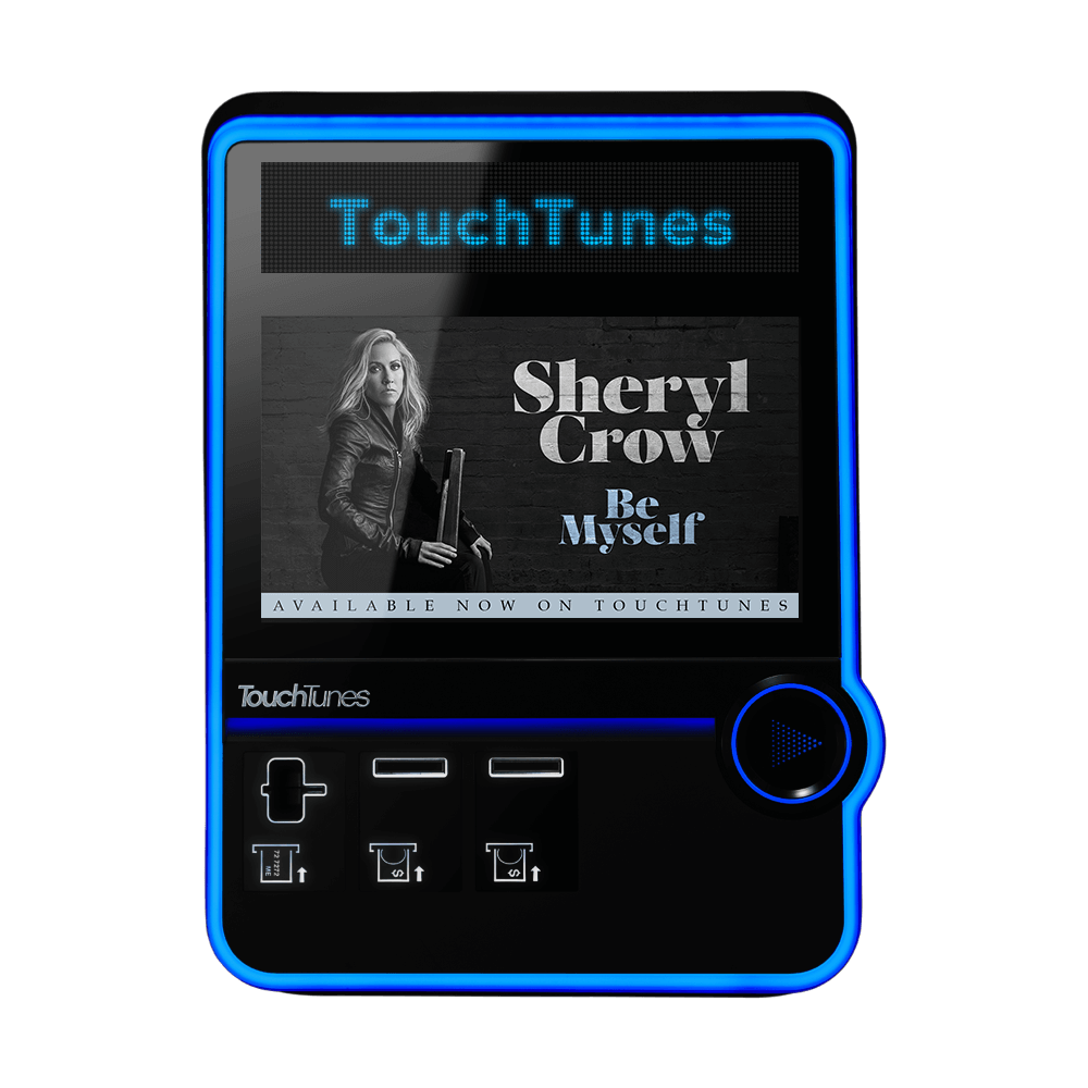 Sheryl Crow album Be Myself - TouchTunes