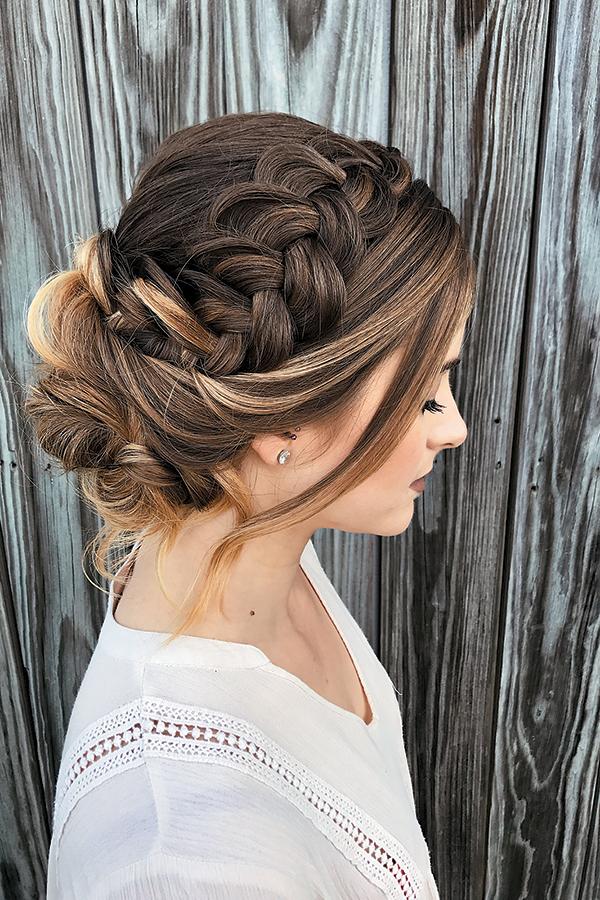 Headband braid by Heather Chapman