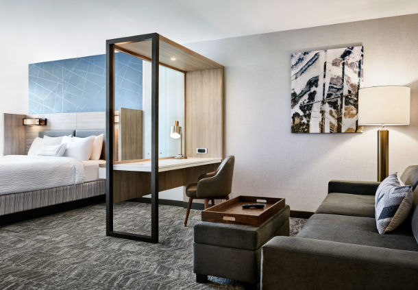 Marriott International Opens Springhill Suites In