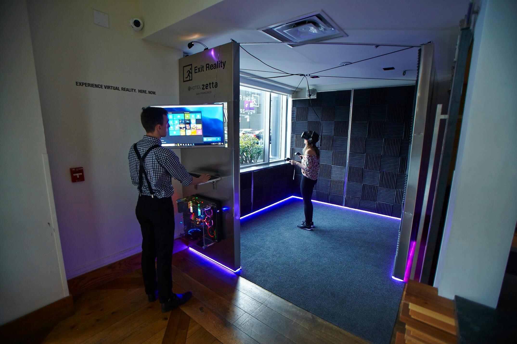 Hotel Zetta Introduces Virtual Reality Experiences Hotel